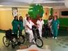 Donazione al reparto di pediatria e al pronto soccorso pediatrico dell'ospedale San Salvatore de L'Aquila delle attrezzature richieste dal primario Alberto Verrotti. 22 giugno 2017