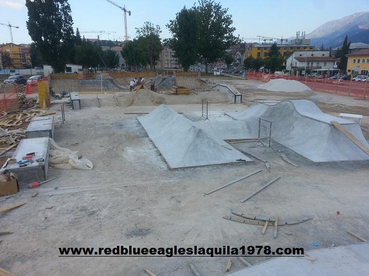 Costruzione dello skatepark