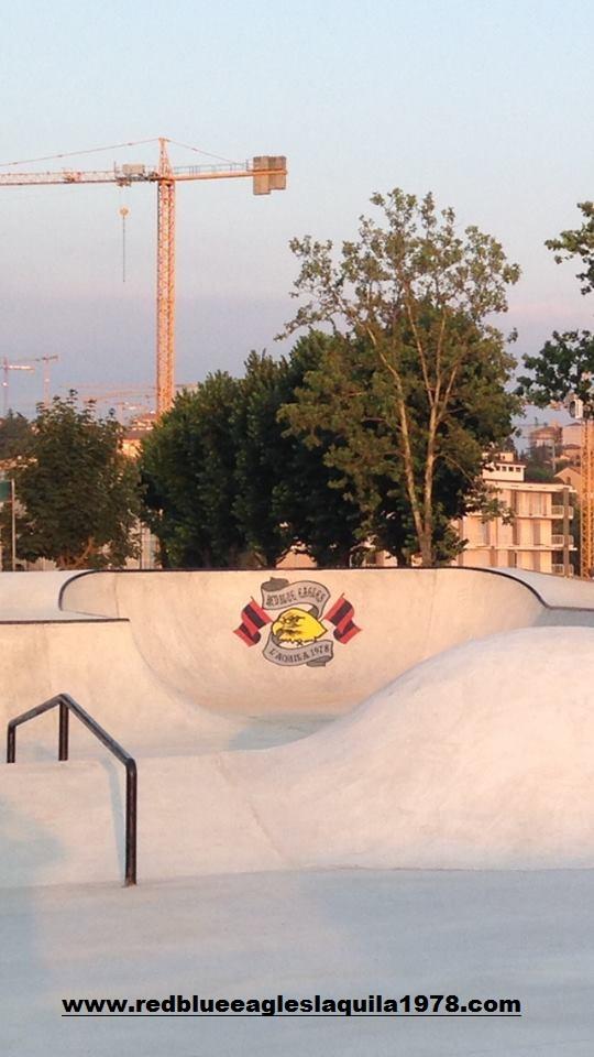 Area Ultras D'Italia Skatepark Maurane Fraty