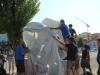 Statua in omaggio di tutte le tifoserie che hanno aderito al nostro progetto realizzata da uno scultore aquilano