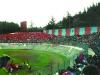 L'Aquila-Gualdo 1992....sullo sfondo le mura ripittate di rosso-blu da Piero