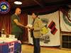Consegna della targa ai parenti di Maurizio Climastone