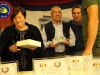 Consegna della targa ai parenti di Ettore Gioia