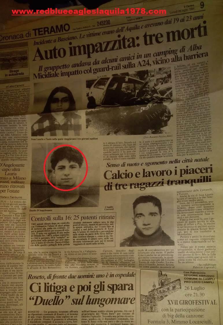 Danilo D'Angelosante 25 Luglio 1994