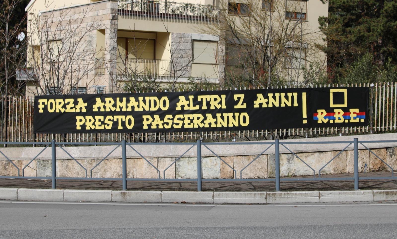Forza Armando altri 2 anni presto passeranno! 17/11/2020