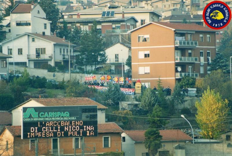 Curva diffidati Ultras L'Aquila