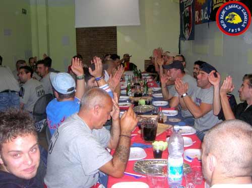 Pranzo con i ragazzi di Termoli Eccellenza 2006/2007