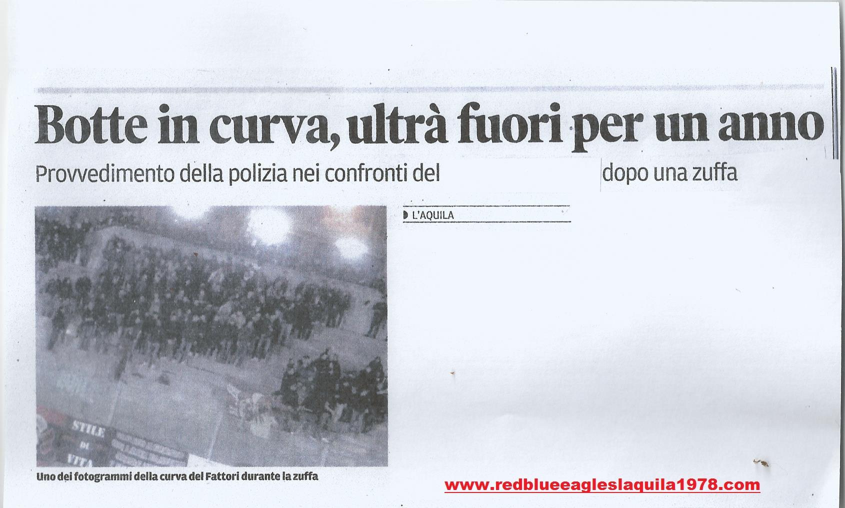 Botte in curva (Lega Pro) 18 Marzo 2015