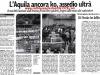 Dura contestazione e conseguente assedio alla squadra e alla società de L'Aquila calcio al termine di L'Aquila-Atessa serie D 16 Maggio 2010
