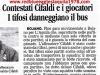 Dura contestazione e conseguente assedio alla squadra e alla società dell'Aquila calcio al termine di L'Aquila-Atessa serie D 16 Maggio 2010