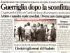 Scontri con lancio di sassi e oggetti con successivo assedio al pullman dei sangrini in L'Aquila-Castel di Sangro Sabato 10-12-2000 serie C1