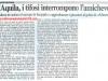 Gli ultras aquilani interrompono la partita amichevole Amiternina -L'Aquila 29 Dicembre 2002