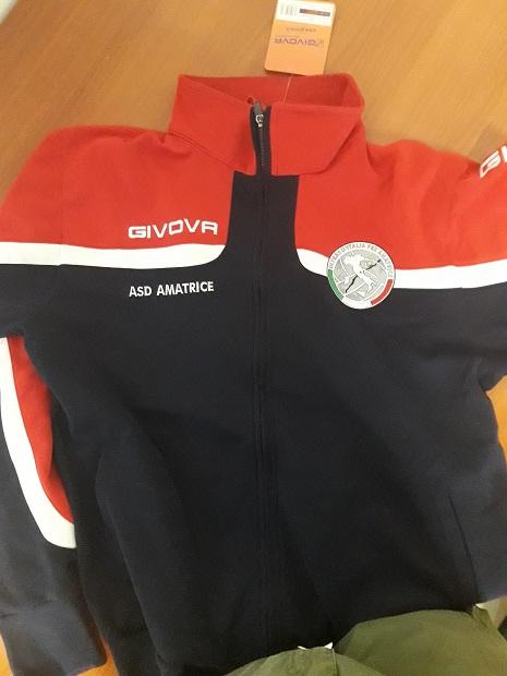 Materiale stagione 2018/19 donato all'A.S.D. Amatrice calcio