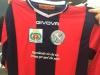 Prima maglia da gioco stagione 2018/19 donata all'ASD Amatrice calcio