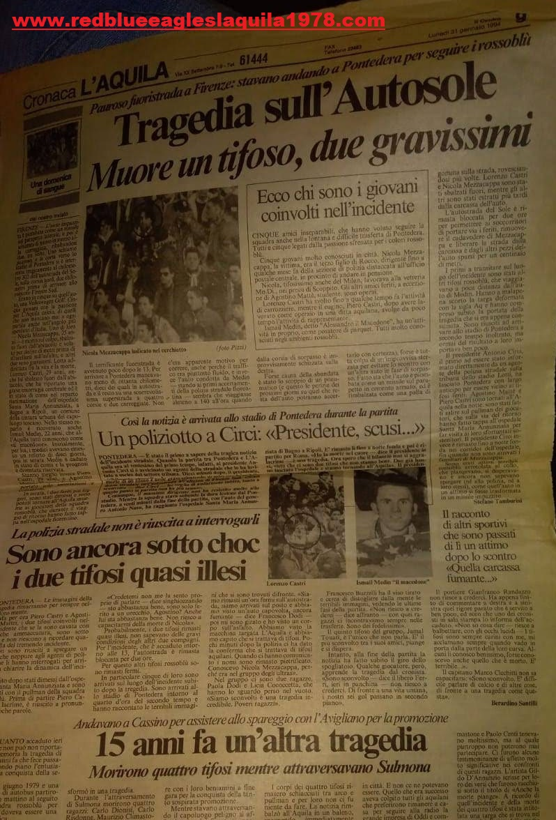 Nicola Mezzacappa 31 Gennaio 1994