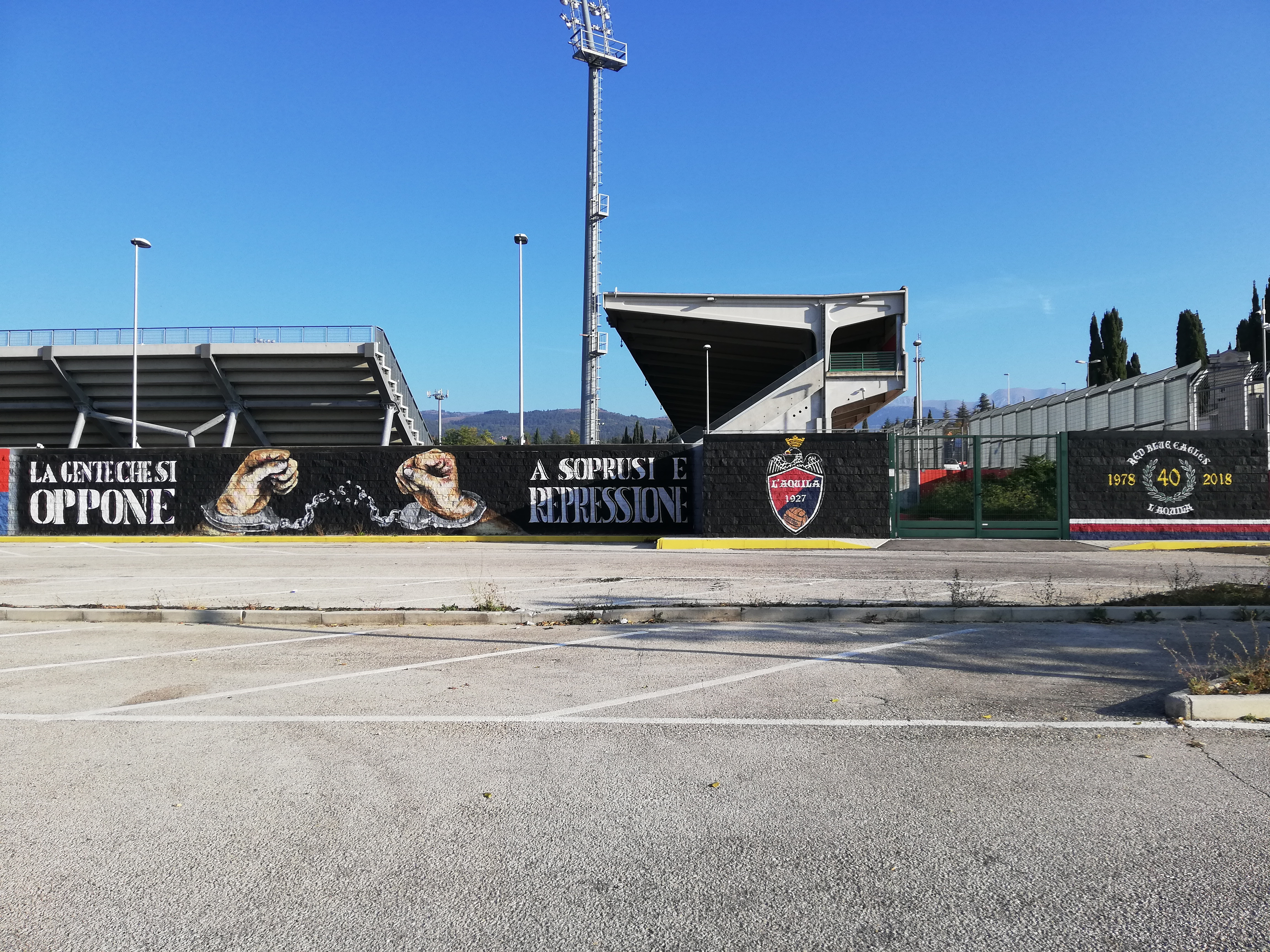 Curva Sud Stadio Gran Sasso D'Italia