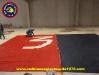Preparazione coreografia 35 anni Red Blue Eagles L\'Aquila 1978