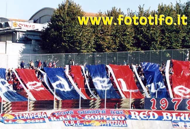 Coreografia Venticinquennale Red Blue Eagles L\'Aquila 1978
