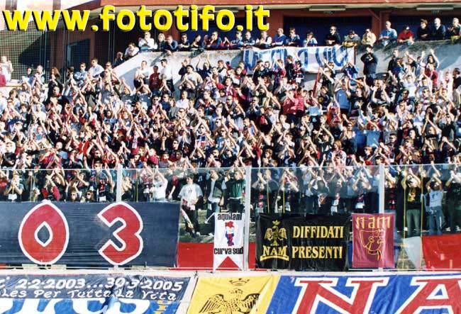 Venticinquennale Red Blue Eagles L\'Aquila 1978