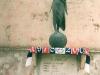 Targa posta ai distinti in memoria dei quattro ragazzi morti il 3 Giugno 1979 a Sulmona mentre si recavano a Cassino per seguire L'Aquila calcio