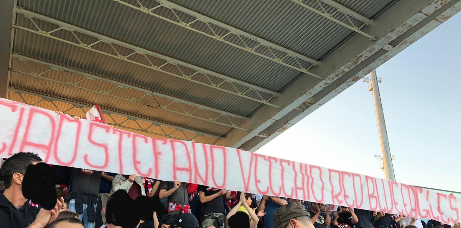 Curva Nord Ancona per Stefano 27-10-2019