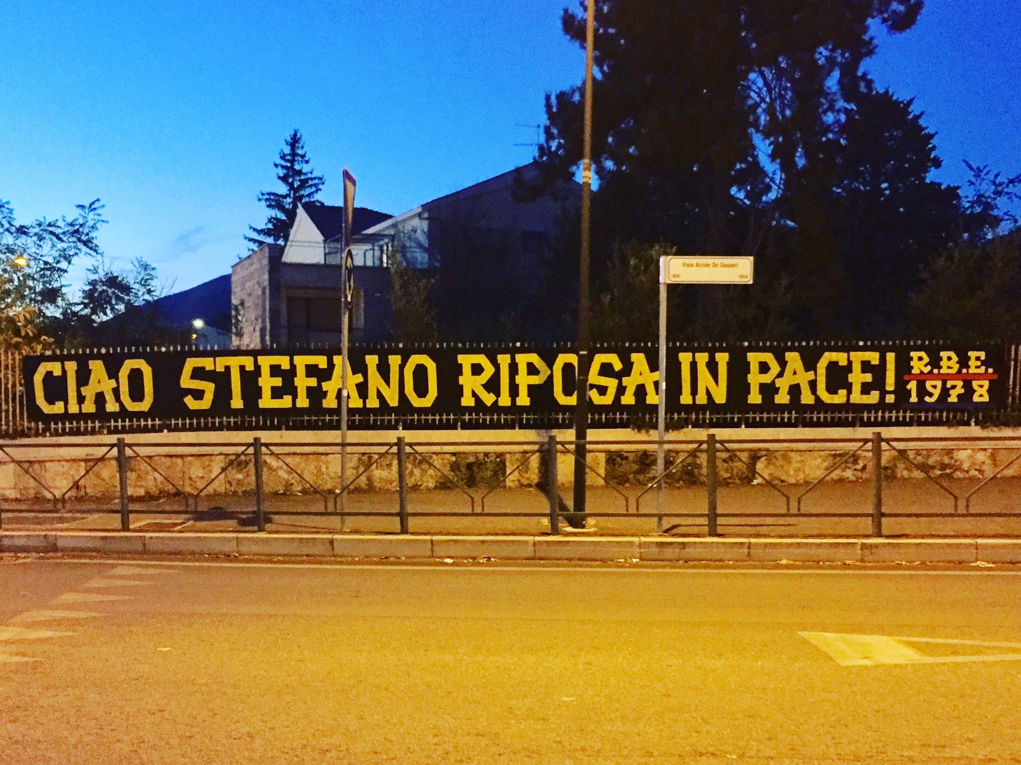 Ciao Stefano riposa in pace! 21-10-2019
