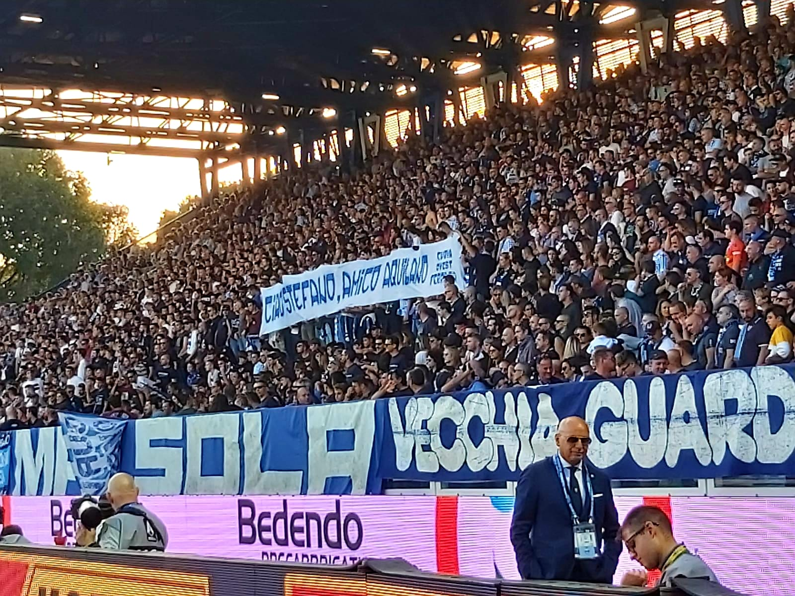 Curva Ovest Ferrara per Stefano 27-10-2019