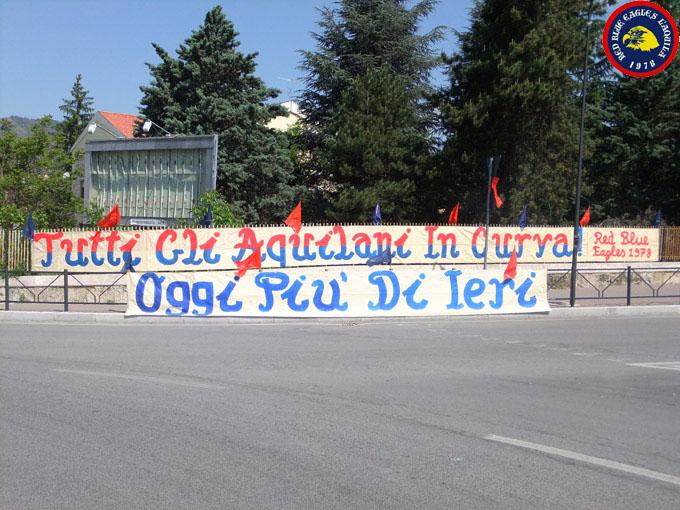 Settimana precedente alla partita L\'Aquila-Prato