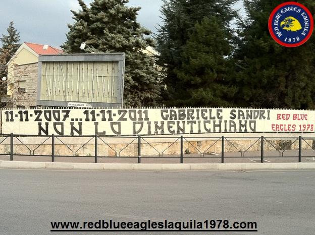 11/11/2007...11/11/2011 Gabriele Sandri non lo dimentichiamo