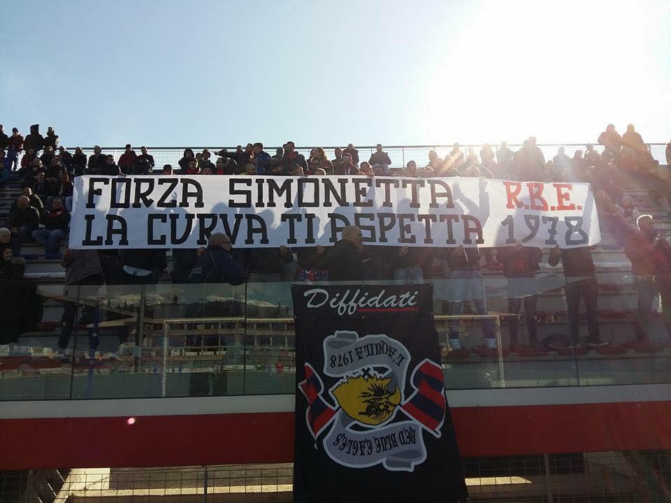 Forza Simonetta la Curva ti aspetta! 19/2/2017