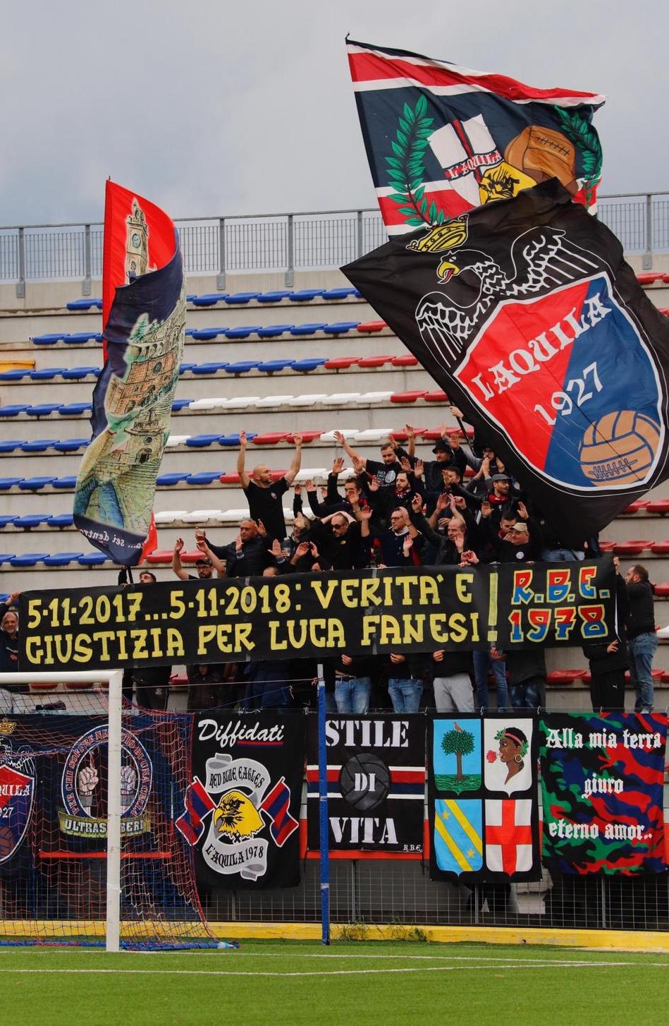 5-11-2017...5-11-2018 Verità e giustizia per Luca Fanesi!