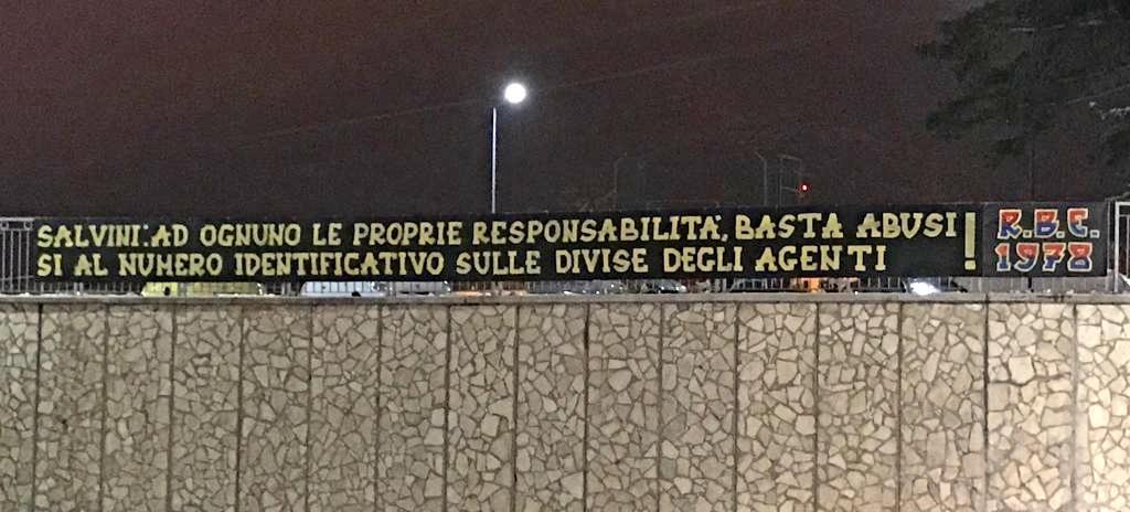 Salvini: ad ognuno le proprie responsabilità, basta abusi si al numero identificativo sulle divise degli agenti! 5/1/19