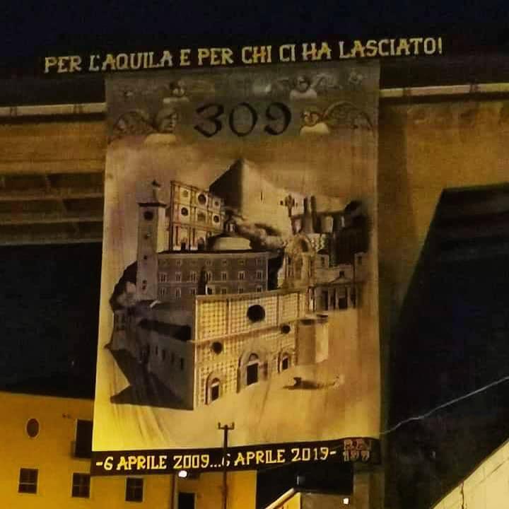 Per L'Aquila e per chi ci ha lasciato! 6 Aprile 2009...6 Aprile 2019