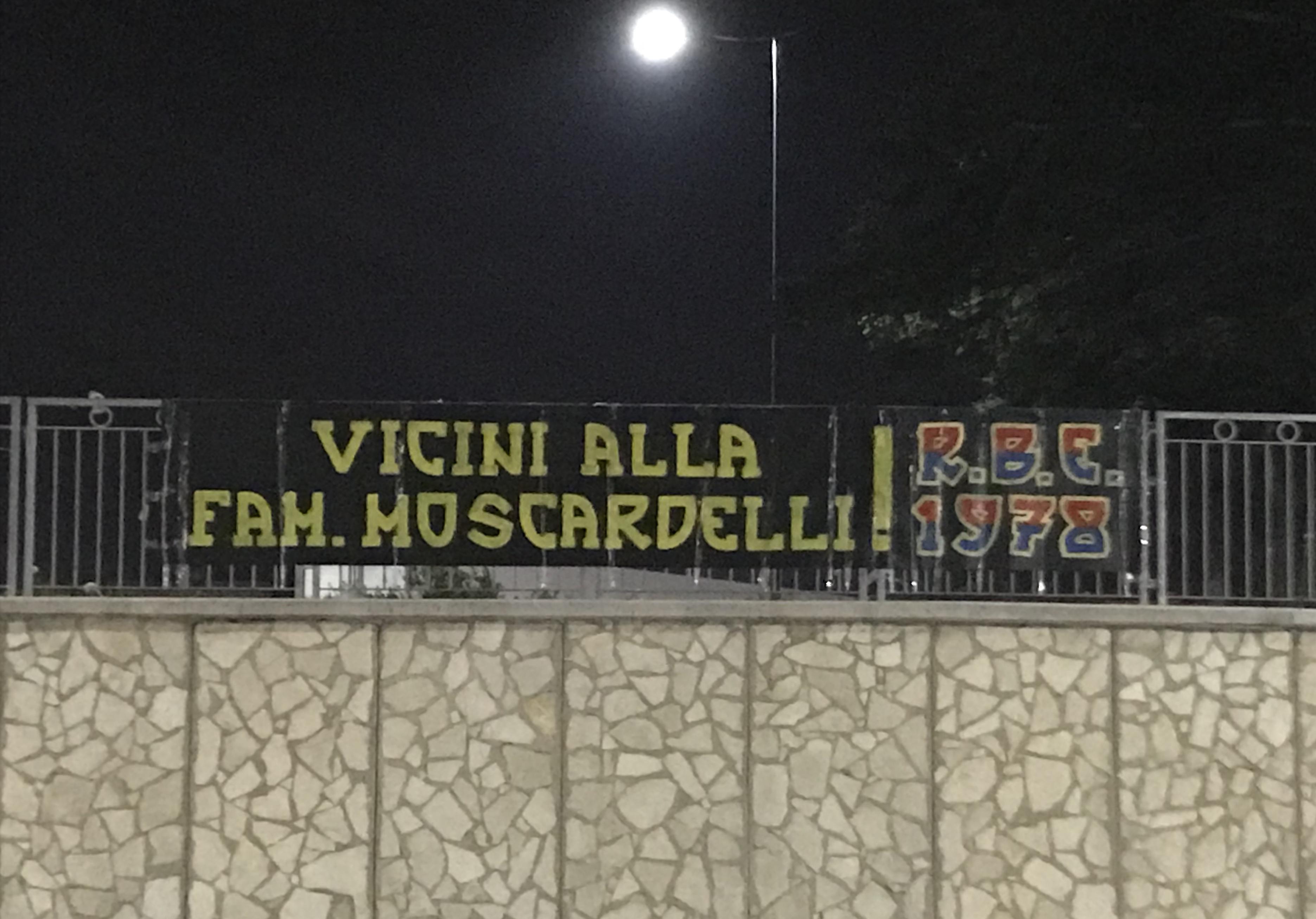 Vicini alla famiglia Moscardelli 13/11/2018