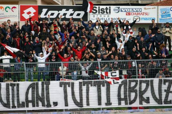 Ultras Lanciano...Tutti Aquilani, tutti Abruzzesi