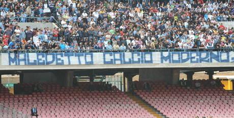 Curva B Napoli.