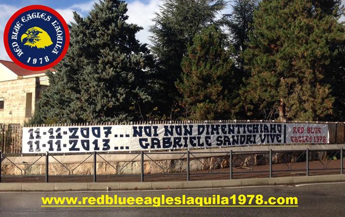 11/11/2007...Noi non dimentichiamo 11/11/2013 Gabriele Sandri vive!