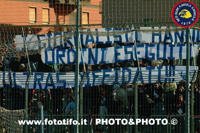 Viterbese-L\'Aquila 2002/2003 I giornalisti hanno comandato, ordini eseguiti ultras diffidati!