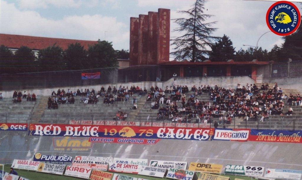 L\'Aquila-Atletico Catania 2001...Tolleranza zero per chi infama e non rispetta i suoi tifosi