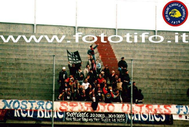 Foggia-L\'Aquila 2003-2004.... Per onorare il nostro spirito ultras fino alla fine!