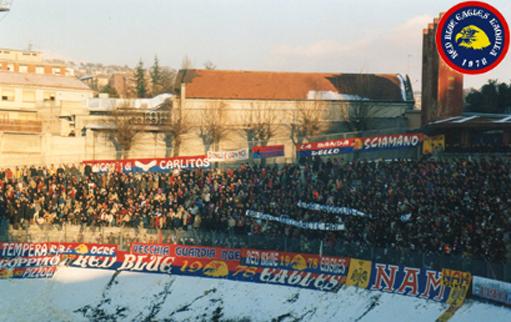 L\'Aquila-Pescara 2001/2002...La vostra indifferenza ci dà orgoglio e resistenza.... RAI non ci cancellerete mai