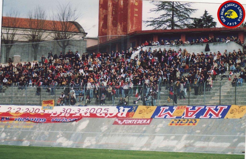 L\'Aquila 2003....Diffidati 2-2-2003...30-3-2005