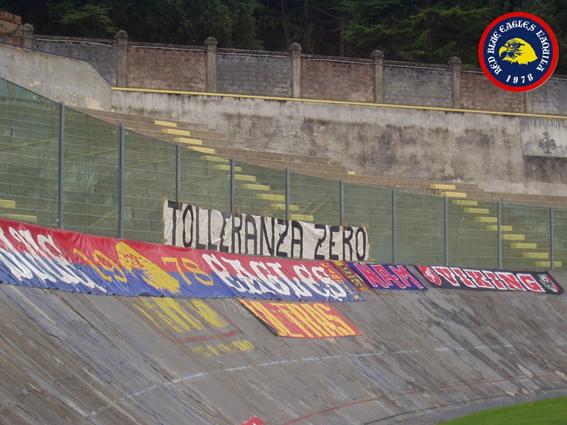L\'Aquila-Pianella Eccellenza 2006/2007....Tolleranza zero