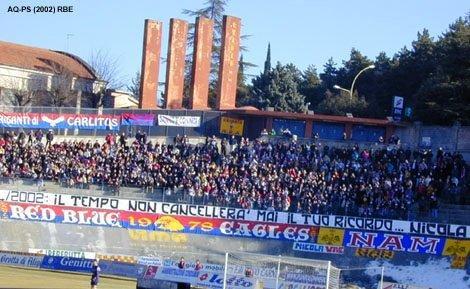 L\'Aquila-Vis Pesaro 2002...1994/2002:Il tempo non cancellerà mai il tuo ricordo...Nicola vive!