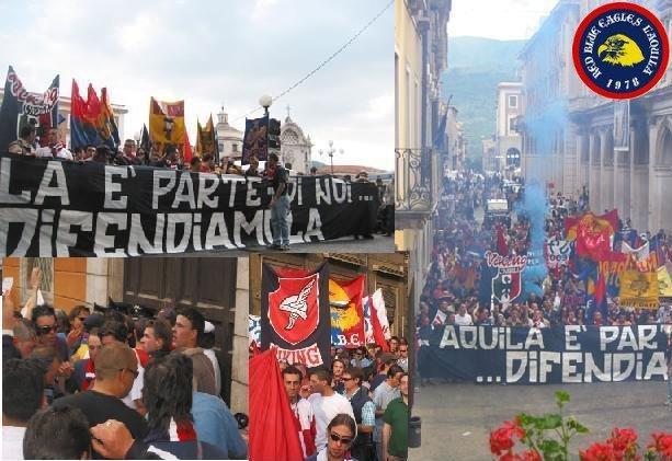 Manifestazione Maggio 2003...L\'Aquila è parte di noi...difendiamola