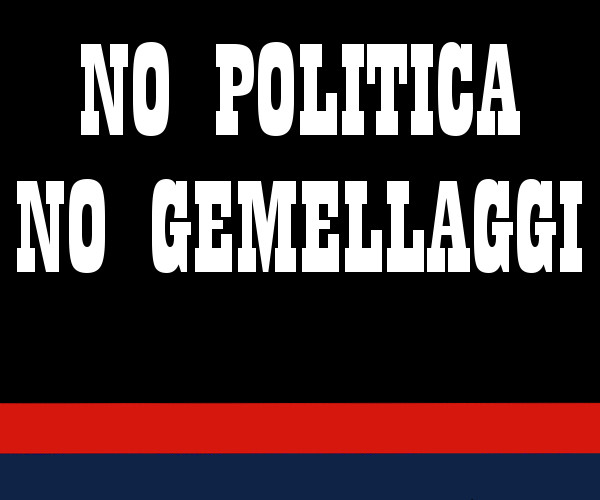 No politica no gemellaggi